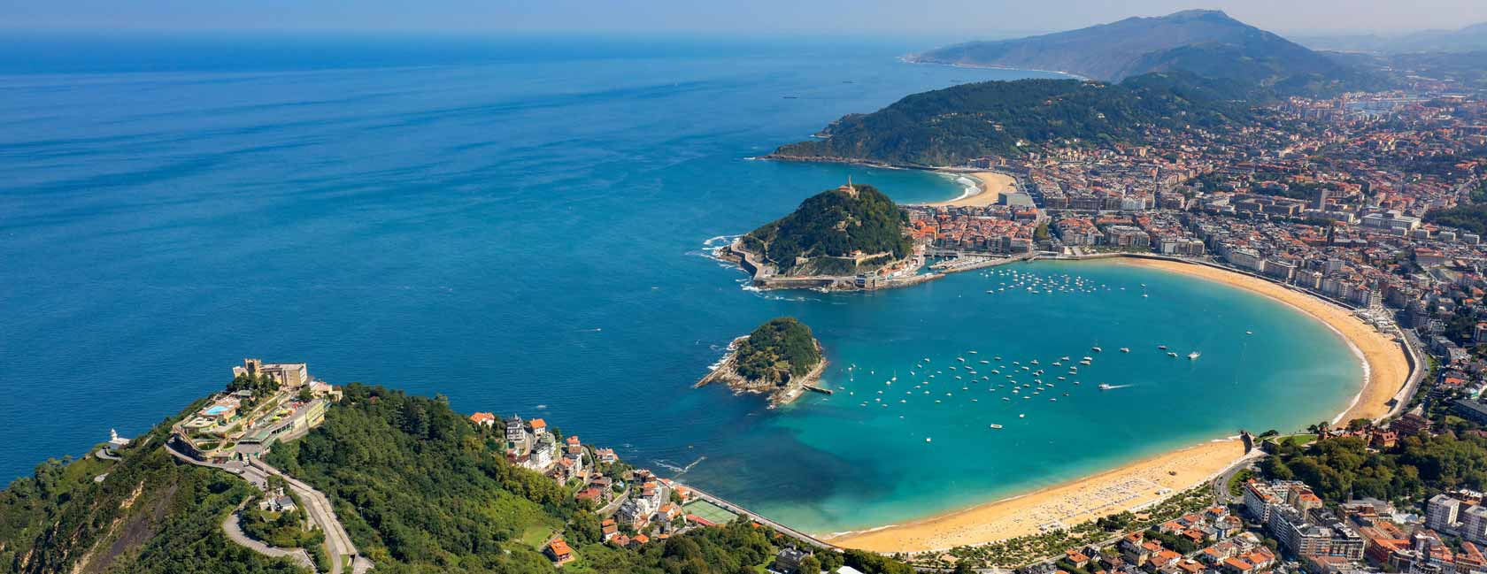 A variety of fabulous getaway plans for you to choose in San Sebastian!