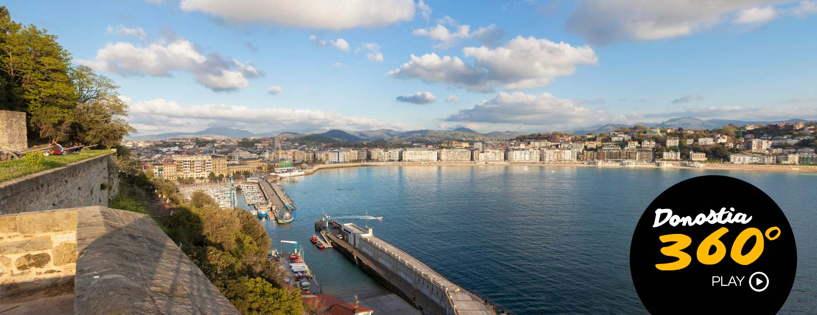 Explore San Sebastian in 360º