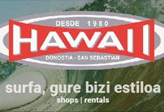 Hawaiii - Tiendas de surf en Donostia