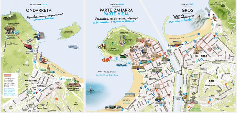 San Sebastian, district by district - San Sebastian Tourism