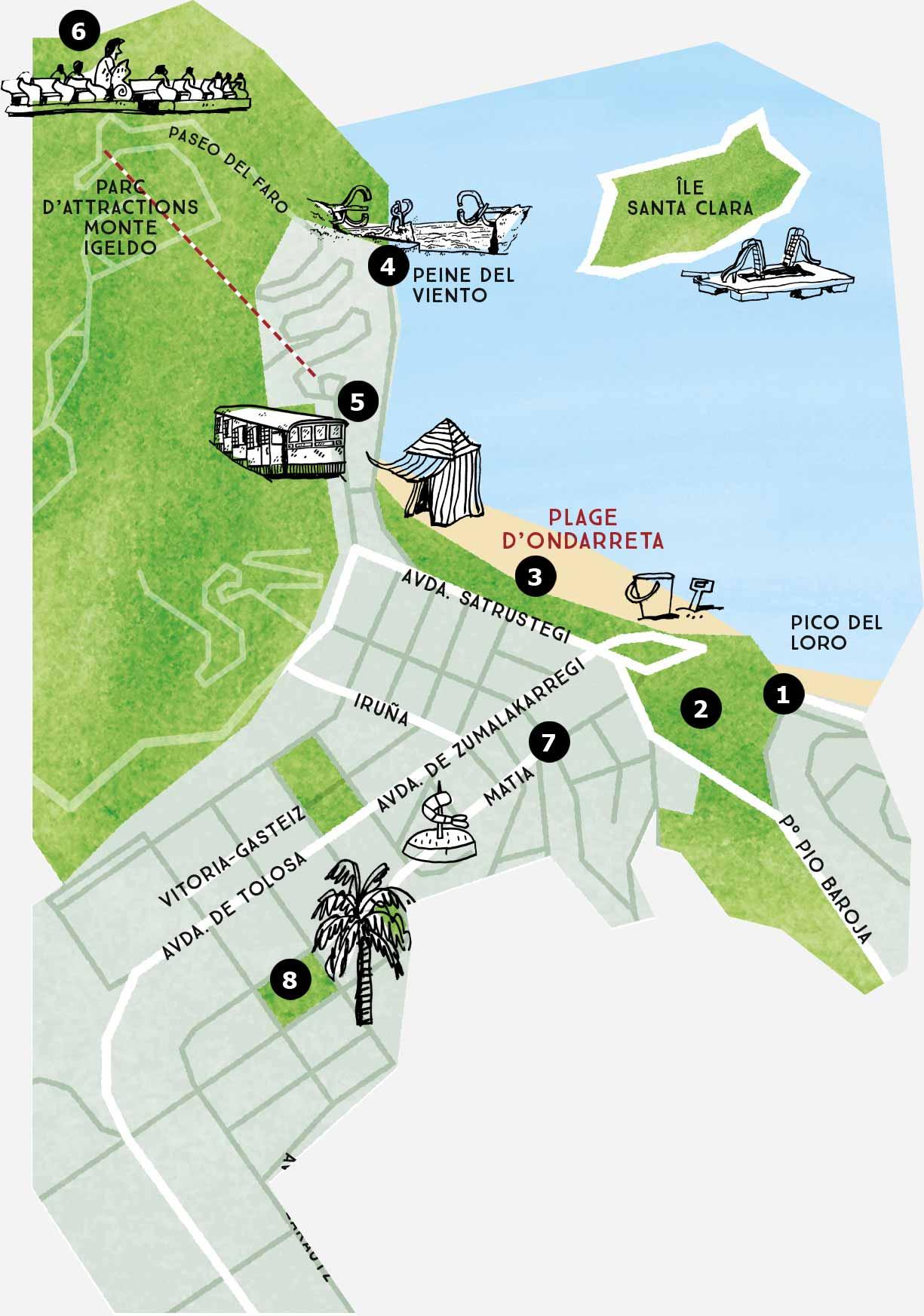 Mapa Del Barrio Antiguo