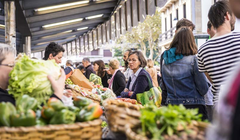 Gourmet markets and shops in San Sebastian